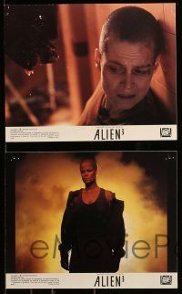 8x027 ALIEN 3 8 color 8x10 stills '92 David Fincher, great images of Sigourney Weaver as Ripley!