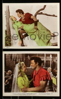 8x030 BANDIT OF SHERWOOD FOREST 8 color 8x10 stills '45 cool images of Cornel Wilde, Anita Louise!