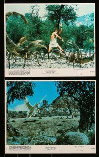8x037 CLASH OF THE TITANS 8 8x10 mini LCs '81 Harryhausen, Harry Hamlin, Burgess Meredith!