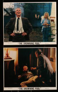 8x001 DROWNING POOL 24 8x10 mini LCs '75 MANY great images of Paul Newman, Joanne Woodward, Haynes!