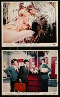 8x023 HOLLYWOOD OR BUST 9 color 8x10 stills '56 Dean Martin & Jerry Lewis, sexy Anita Ekberg!