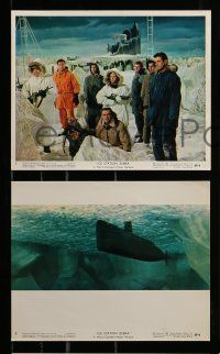 8x003 ICE STATION ZEBRA 12 color 8x10 stills '69 Patrick McGoohan, Rock Hudson, Jim Brown, Borgnine