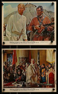 8x015 LAWRENCE OF ARABIA 10 color 8x10 stills '63 Lean, Peter O'Toole, Sharif, Quinn, Rains!