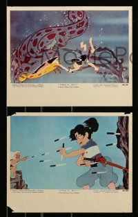 8x005 MAGIC BOY 12 color 8x10 stills '61 Japanese animated ninja fantasy adventure, early anime!