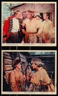8x006 MANY RIVERS TO CROSS 12 color 8x10 stills '55 Robert Taylor, Eleanor Parker, Russ Tamblyn!