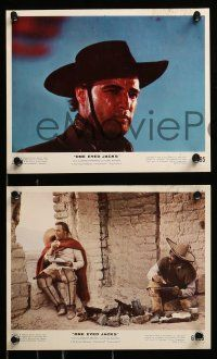 8x025 ONE EYED JACKS 9 color from 7.75x10 to 8x10 stills '61 star & director Marlon Brando, Malden!