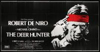 9g001 DEER HUNTER English 30sh '78 classic art of Robert De Niro w/gun to his head, Michael Cimino