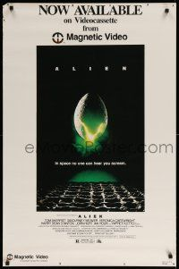 9k708 ALIEN 25x38 video poster R80 Ridley Scott outer space sci-fi classic, hatching egg!