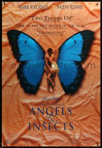 9k710 ANGELS & INSECTS 2-sided 27x40 video poster '95 sexy Patsy Kensit, Kristin Scott Thomas!