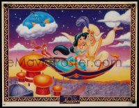 9k487 ALADDIN 20x25 special '92 classic Walt Disney Arabian fantasy cartoon!