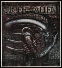 9k490 ALIEN 20x22 special '90s Ridley Scott sci-fi classic, cool H.R. Giger art of monster!