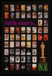 9k495 AND THE WINNER IS OSCAR 24x36 special '85 best pictures posters!