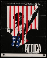 9k497 ATTICA 17x23 special '74 Firestone, Attica State prison rebellion and aftermath!