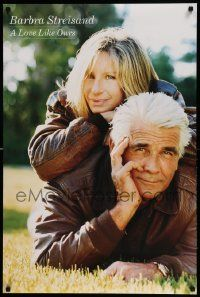 9k381 BARBRA STREISAND 2-sided 24x36 music poster '99 image of Babs and Brolin, A Love Like Ours!