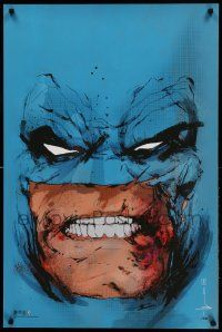 9k336 BATMAN signed #15/300 24x36 art print '15 by Jock, cool artwork of caped crusader!