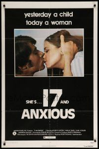 9p011 17 & ANXIOUS 1sh '73 Zybnek Brynych, Anne-Marie Kuster, Nadja Tiller, today a woman!