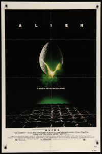 9p033 ALIEN 1sh '79 Ridley Scott outer space sci-fi monster classic, cool egg image!