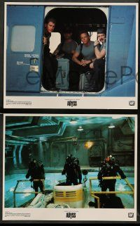 9r030 ABYSS 8 LCs '89 directed by James Cameron, deep-sea underwater sci-fi thriller!