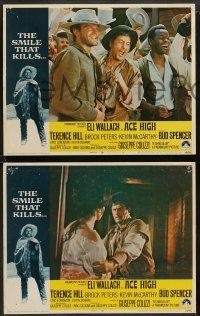 9r032 ACE HIGH 8 LCs '69 Eli Wallach, Terence Hill, Brock Peters, spaghetti western!