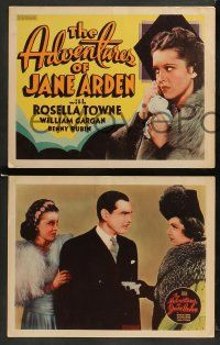 9r036 ADVENTURES OF JANE ARDEN 8 Other Company LCs '39 Rosella Towne as the comic strip reporter!