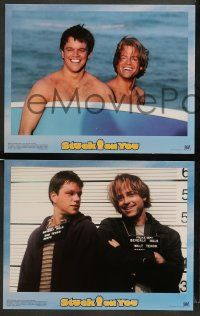 9r009 STUCK ON YOU 10 LCs '03 Matt Damon, Greg Kinnear, directed by the Farrelly Brothers!