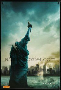9t029 CLOVERFIELD teaser DS Aust 1sh '08 destroyed New York & Lady Liberty decapitated!
