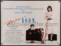 9t404 BABY BOOM British quad '88 business woman Diane Keaton wants nothing to do with baby!