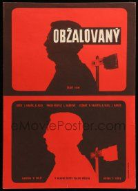 9t124 ACCUSED Czech 11x16 '65 Obzalovany, Vlado Muller, completely different Vaca art!