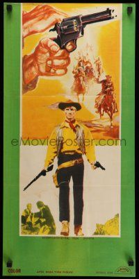 9t009 PERUVIAN WESTERN STOCK Peruvian '70s completely different cowboy western artwork!