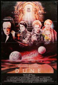 1f040 DUNE Lebanese 84 David Lynch sci-fi epic, Kyle MacLachlan, Sting, different art by Casaro!