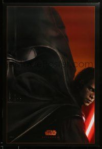 1g022 REVENGE OF THE SITH style A teaser DS 1sh '05 Star Wars Episode III, image of Darth Vader!