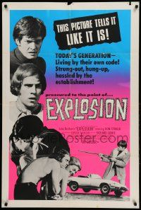 1j305 EXPLOSION int'l 1sh '70 Don Stroud, if anyone gets in your way, kill 'em!