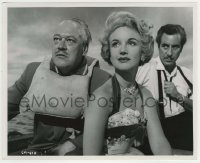 1s049 ABANDON SHIP 8.25x10 still '57 Clive Morton, Moira Lister & Ferdy Mayne in lifeboat!