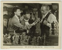1s053 ABOVE SUSPICION 8x10.25 still '43 Joan Crawford & Fred MacMurray with cool chessboard!