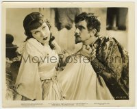1s057 AFFAIRS OF CELLINI 8x10.25 still '34 Fredric March pleads with beautiful Fay Wray!