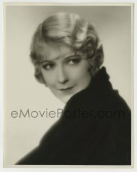 1s059 AILEEN PRINGLE deluxe 7.75x9.75 still '30s great smiling portrait looking over her shoulder!
