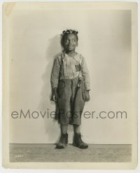 1s068 ALLEN 'FARINA' HOSKINS 8.25x10 still '30s standing & grinning by Clarence Sinclair Bull!