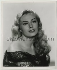 1s078 ANITA EKBERG 8.25x10 still '57 the sexy Swedish blonde when she was making Screaming Mimi!