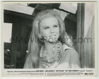 1s080 ANN-MARGRET 8x10.25 still '73 great close up of the Swedish star from The Train Robbers!