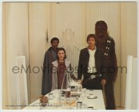 1s016 EMPIRE STRIKES BACK color 8x10 still '80 Lando about to betray Han Solo, Chewbacca & Leia!