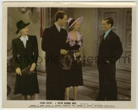 1s017 FIFTH AVENUE GIRL color 8x10.25 still '39 Ginger Rogers, watches Ellison, Adams & Tim Holt!