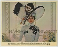 1s035 MY FAIR LADY color 8.25x10 still '64 Audrey Hepburn in her most famous race track dress!
