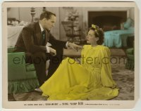 1s004 SUSAN & GOD color-glos 8x10.25 still '40 Fredric March is stern w/ sexy spoiled Joan Crawford!