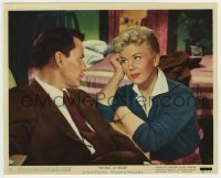 1s047 YOUNG AT HEART color 8x10 still #12 '54 great close up of Doris Day & Frank Sinatra!