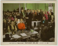 1s006 YOUNG MR. LINCOLN color-glos 8x10.25 still '39 Henry Fonda & top cast in crowded courtroom!