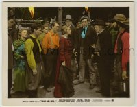 1s005 YOUNG MR. LINCOLN color-glos 8x10 still '39 Quillan, Cromwell, Whelan, Weaver, Brady & Bond!