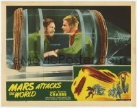 1y032 MARS ATTACKS THE WORLD LC #8 R50 Buster Crabbe as Flash Gordon with Frank Shannon in ship!