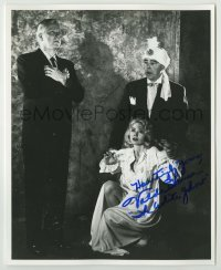2a028 VLADA HANSEN signed 8x10 REPRO still '80s great c/u in her first movie, Night of the Ghouls!