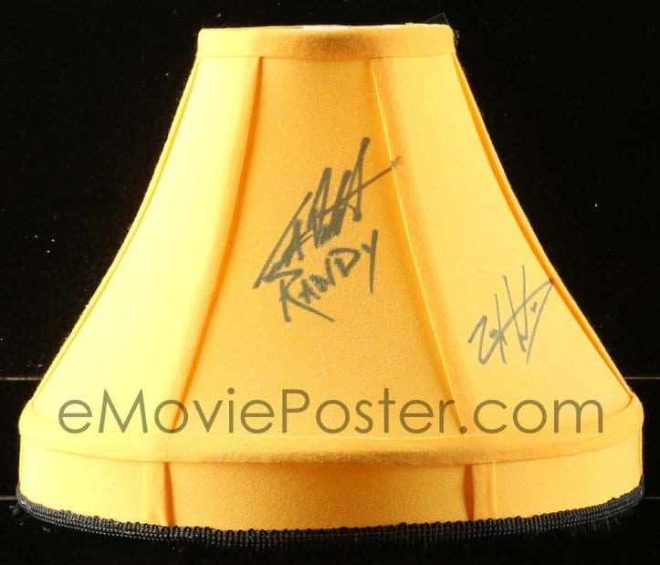 1 of 9 2j0002 christmas story signed 8x12x15 leg lamp 00s by five cast replica of the famous prop - Christmas Story Leg Lamp Replica