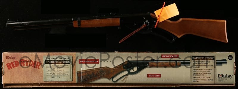 A Christmas Story Red Ryder Daisy Model 1938 BB Gun Autographed by Peter Billing